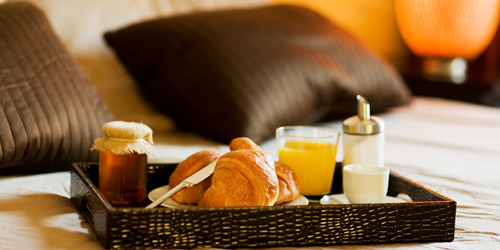 Breakfast in Bed - New England Inns