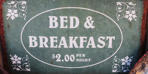 Antique B&Bs Sign - New England Bed & Breakfasts