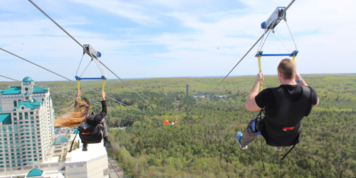 View from Above 2 - Foxwoods High Flyer - Mashantucket, CT