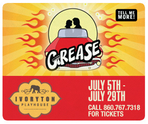 Grease - July 5-29, 2018 at Ivoryton Playhouse. Click here to reserve your tickets.