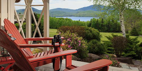 Porch Chair View - Lodge at Moosehead Lake - Greenville, ME