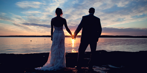 Wedding Sunset - Spruce Point Inn - Boothbay Harbor, ME
