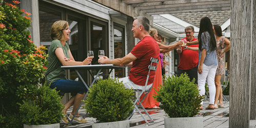Outdoor Cheers - CT Wine Trail