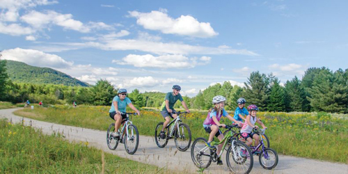 Family Biking - Androscoggin Valley Chamber of Commerce - Berlin, NH