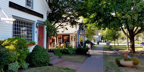 September on Main Street - Historic Wethersfield, CT