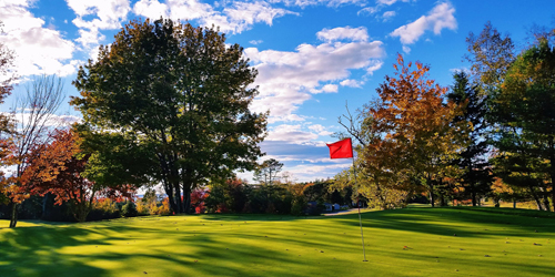 Golf Course in Fall - Sebasco Harbor Resort - Sebasco Estates, ME