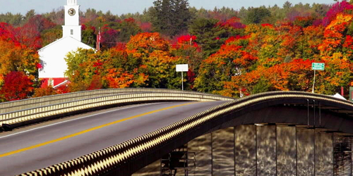 Fall Foliage on the South Coast - York, ME