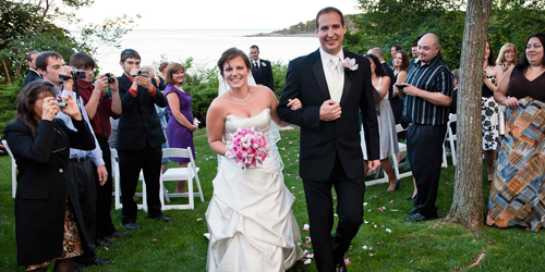 Newlyweds - York Harbor Inn - York Harbor, ME
