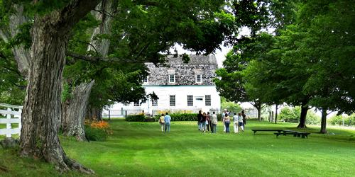 Tour Group - Canterbury Shaker Village - Canterbury, NH