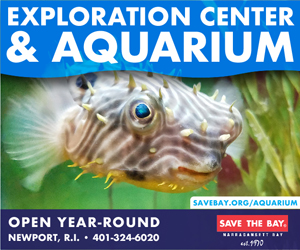 Save The Bay Exploration Center & Aquarium - Open Friday thru Sunday 10am-4pm