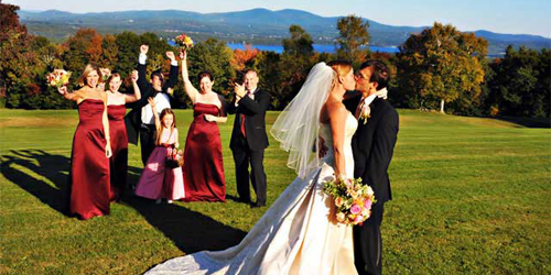 Wedding Party - Steele Hill Resorts - Sanbornton, NH