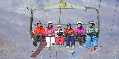 Ski Lift Family - Red Lion Inn - Stockbridge, MA