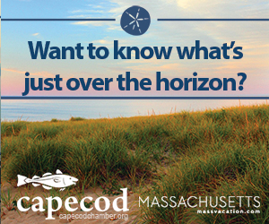 Want to know what's just over the horizon? Visit Cape Cod to find out! Click here for more info.