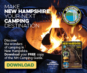 Connect. Explore. Relax. Discover the wonders of camping in New Hampshire! Click here to get your NH camping guide.
