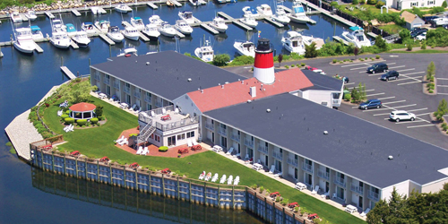 Aerial View - Riverview Resort - South Yarmouth, MA