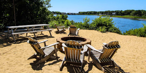 Beach Firepit - Cove at Yarmouth - West Yarmouth, MA