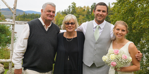Wedding Family - Attean Lake Lodge - Jackman, ME