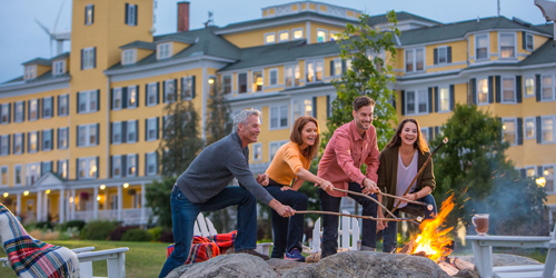 Firepit May19 - Mountain View Grand Resort & Spa - Whitefield, NH