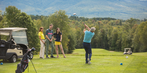 Teeing Off May19 - Mountain View Grand Resort & Spa - Whitefield, NH