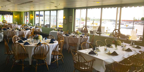 Wedding Reception Harbor View - Boothbay Harbor Inn - Boothbay Harbor, ME