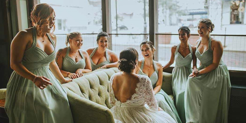 Bride & Bridesmaids #2 - The Goodwin Hotel - Hartford, CT
