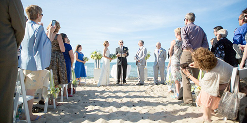 Wedding at Bay Pines Beach - Ocean Edge Resort & Golf Club - Brewster, MA