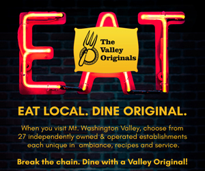 Eat Loca, Dine Original with a Valley Original! Unique, creative & local dining at 27 member establishments - just look for our flag!