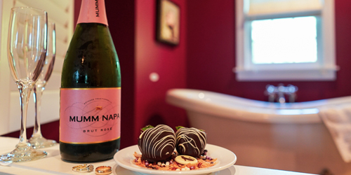 Champagne & Chocolates - The Reluctant Panther Inn & Restaurant - Manchester Village, VT