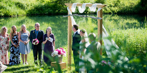 Small Outdoor Wedding - Scott Farm - Dummerston, VT