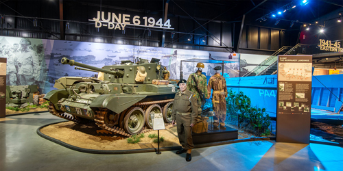 D-Day Exhibit - American Heritage Museum - Hudson, MA