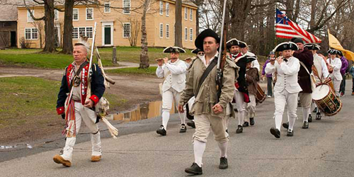 Summer in New England - Fife & Drum Parade in Massachusetts