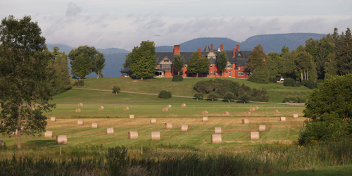 Summer in New England - Rolling Green Fields of Vermont