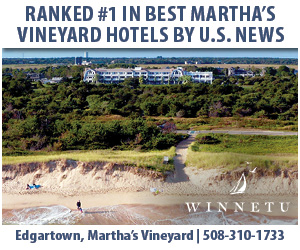 The Winnetu - Named #1 Best Martha's Vineyard Hotel by US News & World Report. Click here for details!