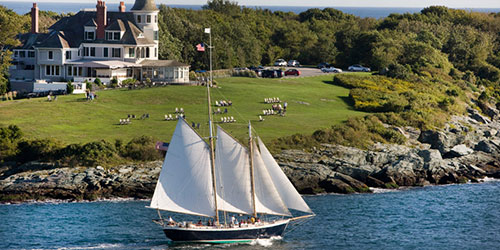 New England Cruising: Small Vessels and Big Scenery