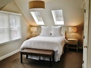 Twin Skylight Room - Warfield House Inn at Valley View Farm - Charlemont, MA