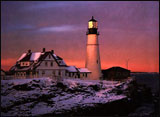 Maine -- Portland Head Lighthouse at Fort Williams Park