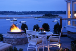 Twilight Firepit - Wequassett Resort & Golf Club - Chatham, MA