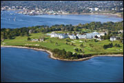 Aerial View - Samoset Resort - Rockport, ME