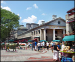 Faneuil Hall and Quincy Marketplace - Boston MA