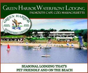 Green Harbor Waterfront Lodging in Falmouth, MA - Seasonal Pet-Friendly Lodging on the Beach!