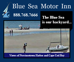 Blue Sea Motor Inn - Views of Provincetown Harbor on Cape Cod