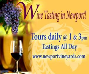 Newport Vineyards Wine Tasting, Newport RI
