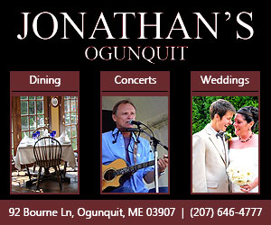 Jonathan's Ogunquit - Dining, Concerts, Weddings. Call 207-646-4777 or click here!