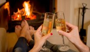 Champagne by the Fire - Darby Field Inn & Restaurant - Albany, NH