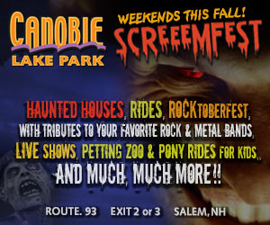 screeemfest weekends this fall at canobie lake park in salem nh haunted houses