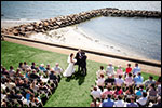 Oceanside Wedding - Lighthouse Inn - West Dennis, MA