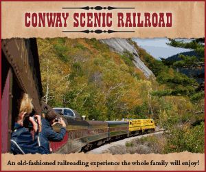 Conway Scenic Railroad in North Conway, NH - Enjoy an old-fashioned railroad experience! Open Daily.