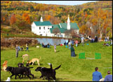 Fall Festival at Dog Mountain in St. Johnsbury Vermont