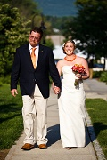 Wedding Couple - The Williams Inn on-the-Green at Williams College - Williamstown, MA