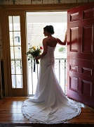 Bride at the Door - Hancock Inn - Hancock, NH
